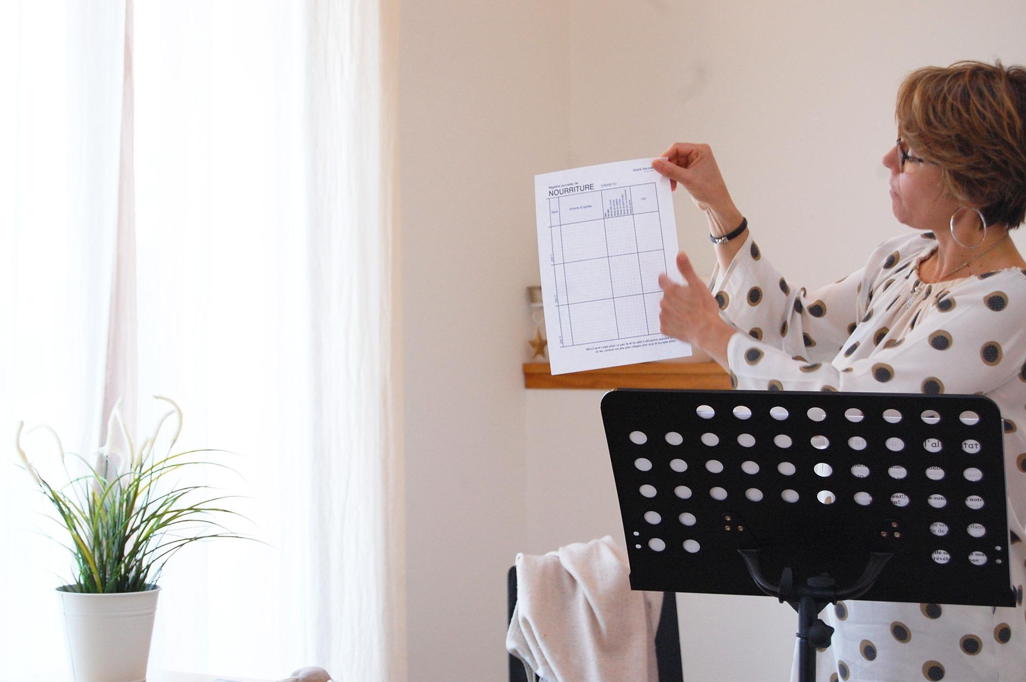 Muriel Gadin en conference
