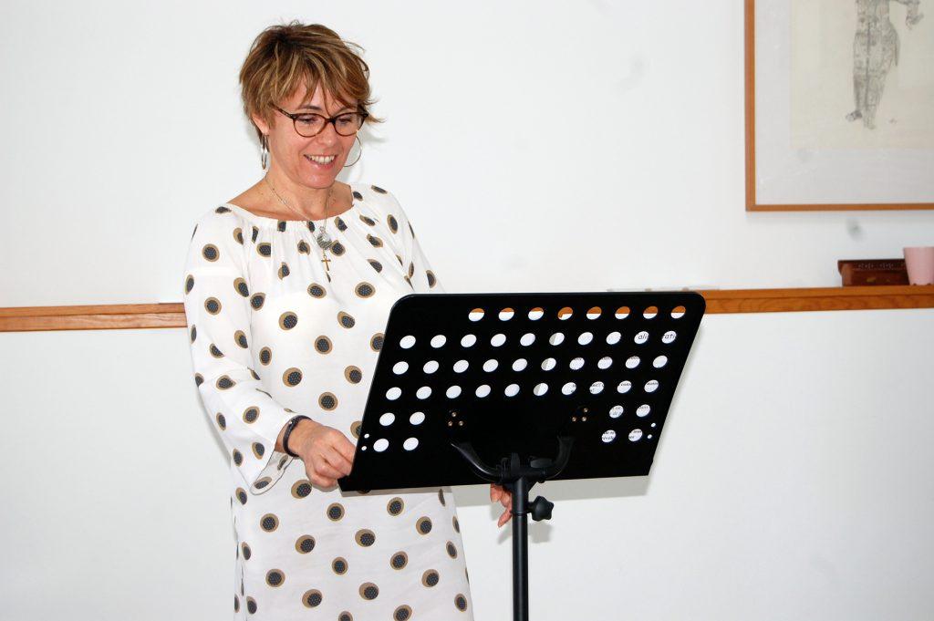 Muriel Gadin conferenciere